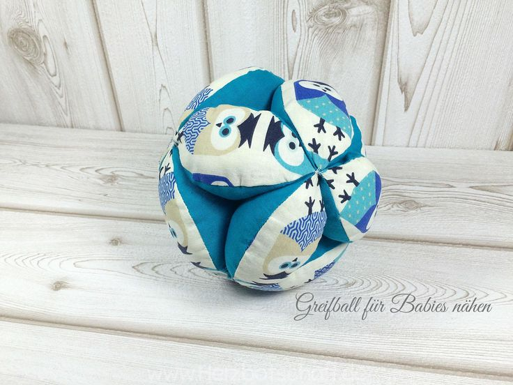 Greifball für Babies nähen – Anja Weber