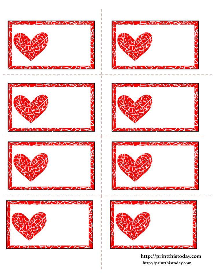 Corazones para San Valentín. Varios Kits para Imprimir Gratis. | Ideas y material gratis para fiestas y celebraciones Oh My Fiesta!