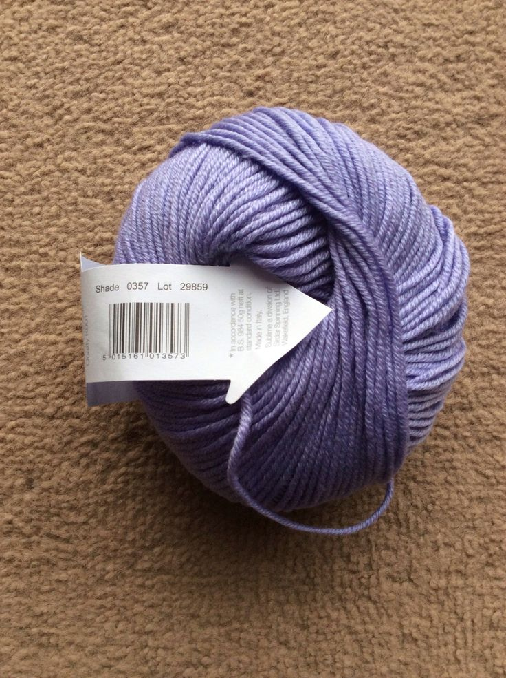 "Sublime baby cashmere merino silk dk- 75% extra fine merino, 20% silk, 5% cashmere. Shade 0357, lot 29859. Aka ""Tiffany"""