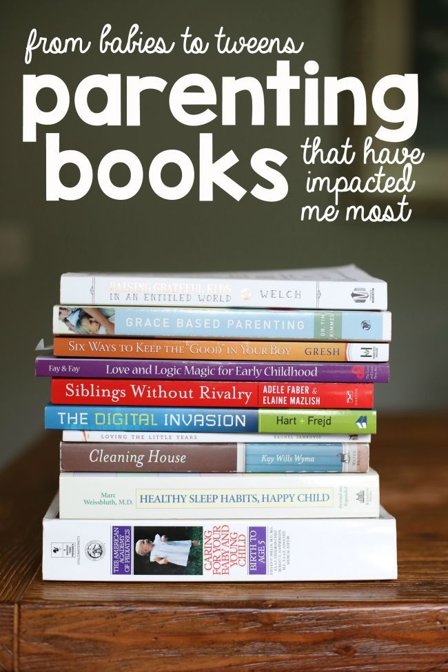 The Parenting Books that have Impacted Me Most