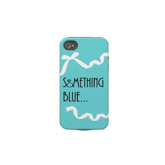 Something Blue iPhone Case