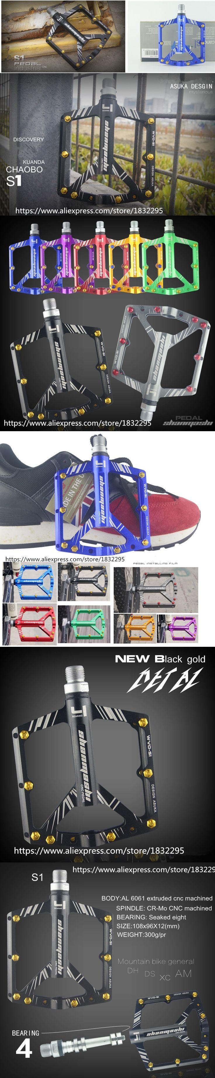 1 pair Cycling 7 Colors Aviation Aluminum Alloy Road Bike Pedals Ultralight MTB BMX DU Bearing Bicycle Pedal Bike Parts