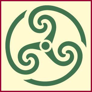 Celtic triple spiral, celtic stencil designs,celtic stencil, celtic knot stencil