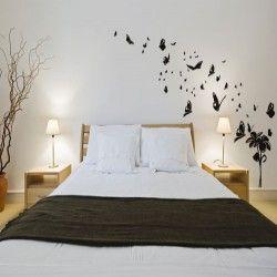 Fly Away Butterflies vinyl wall art