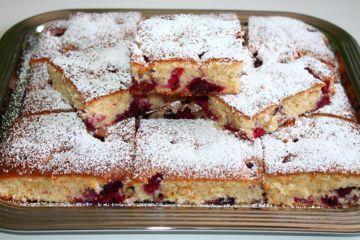Blitzkuchen mit Beeren Rezept