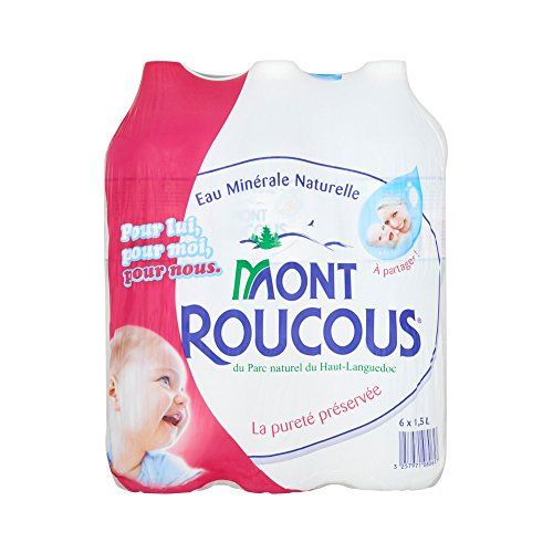 Mont Roucous Eau Minérale Naturelle 6 x 1,5 L