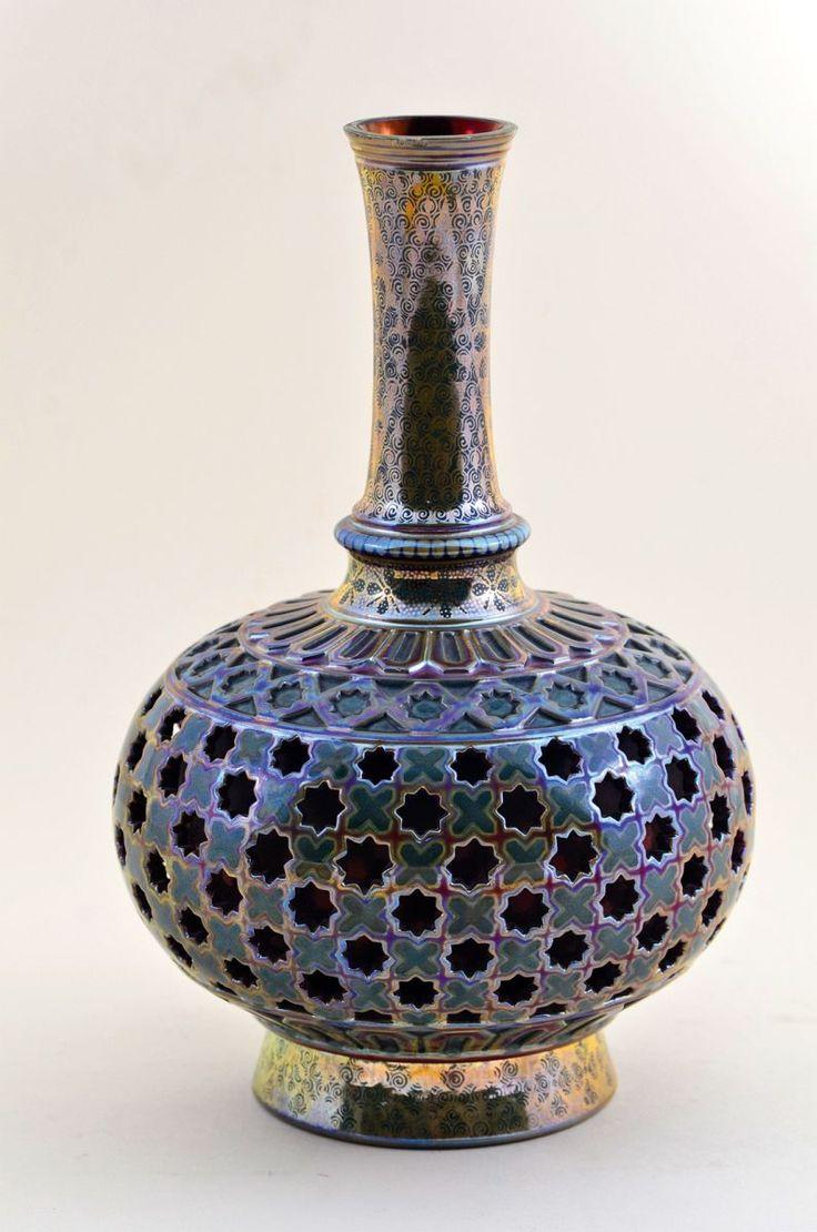 A Zsolnay Millennium vase , 1896.