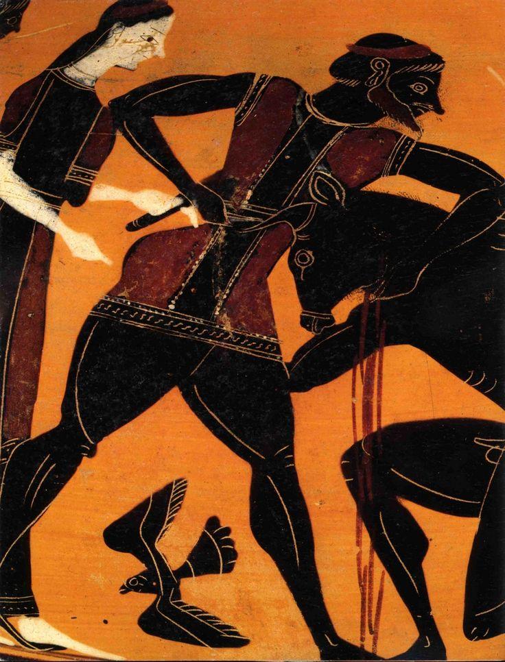 Vases Grecs à figures noires.