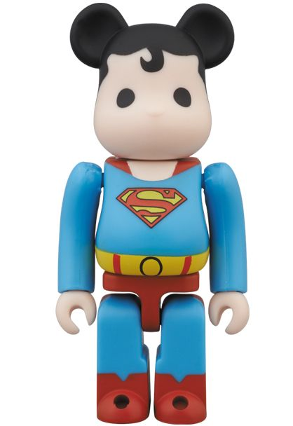 Superman x Medicom Toy 100% Bearbrick Priced at ¥1,575 JPY (approximately $16 USD), Release 7/28/2013