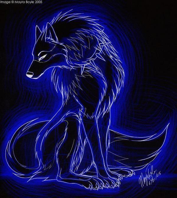 wolf spirit by Donovanwolf321.deviantart.com on @deviantART