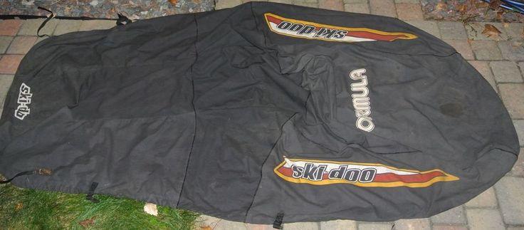 1990's 90's Ski Doo Formula Snowmobile Cover USED OEM Ski-Doo Black Yellow Red #SkiDoo