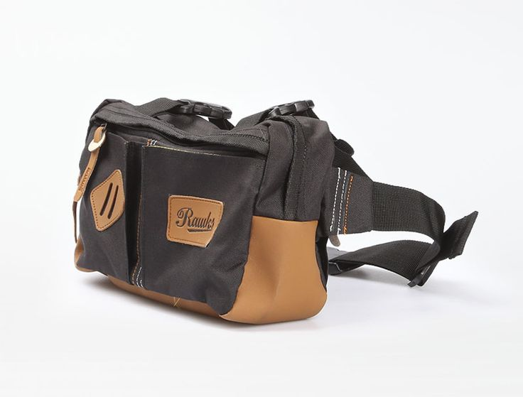 Men's Sling Bag from Rawks comes in two colors: blue navy and black. Made of cotton material.  http://www.zocko.com/z/JKN8V