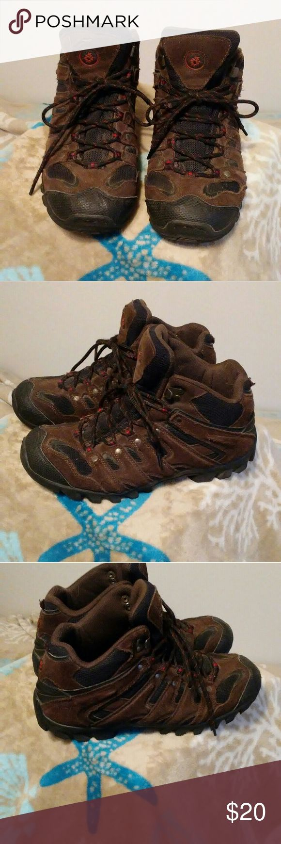 🌟🆕Men's NEVADOS shoes -Have been worn many times as pictures show-the last two pics show the worst of the wear and tear  -soles are still in great condition as are the shoes overall  -just need a new home   💞Half proceeds from the sell of these shoes will be donated to the American Cancer Society. Thank you Nevados Shoes