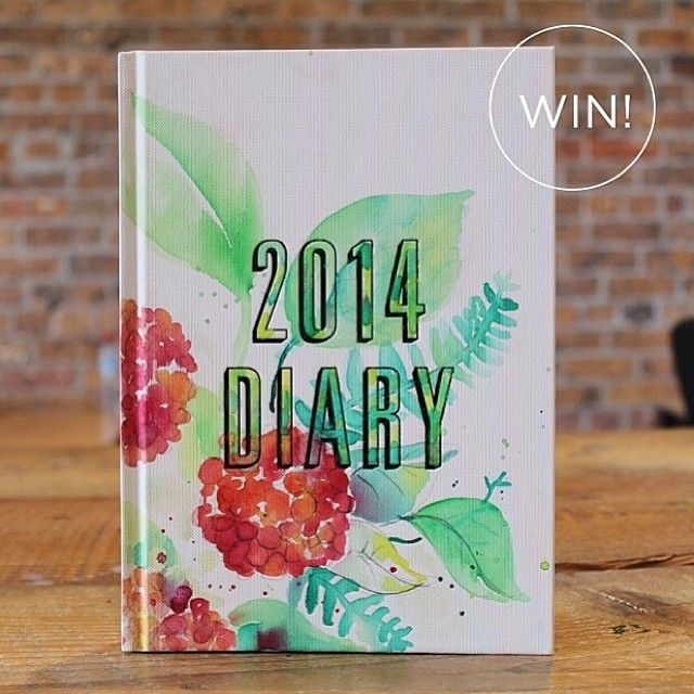 I have teamed up with @migoals to giveaway this 2014 diary that has had its cover sketched on by me! To win you must follow me and @migoals,...