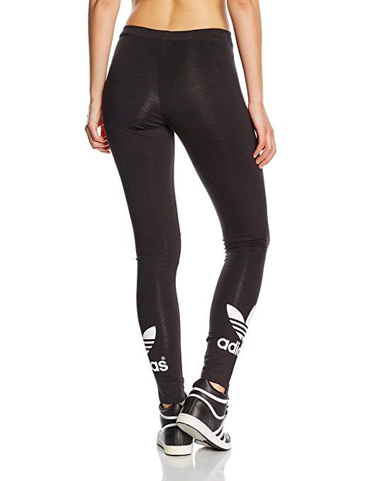 adidas Damen Leggings Trefoil, black, 34, AJ8153: Amazon.de: Sport & Freizeit