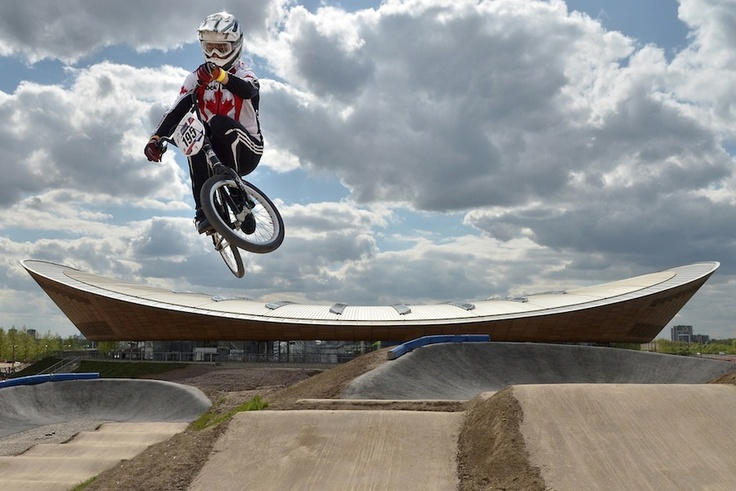 BMX track for the 2012 London Olympics