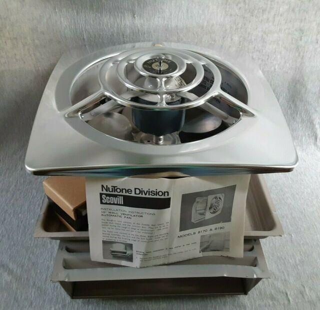 Vintage Nutone 11 Ceiling Wall Ventilator Exhaust Fan Model 8490 For Sale Online Ebay In 2021 Exhaust Fan Kitchen Exhaust Fan Kitchen Exhaust