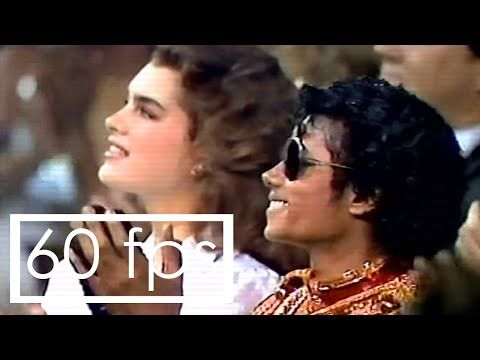 [Rare clip]: Michael Jackson with Diana Ross at American Music Awards 1984 - Remastered - 60fps - YouTube
