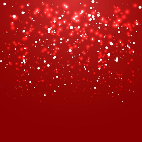 Abstract Red Christmas Glowing Background With Snow And Glowing Effects This New Vector Image Is Customizable Fundo Vermelho Glitter Vermelho Fundos De Natal