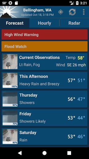 NOAA Weather Unofficial (Pro) v2.8.1[Paid]   NOAA Weather Unofficial (Pro) v2.8.1[Paid]Requirements:4.0Overview:This weather app is not affiliated with NOAA or the National Weather Service. Products provided by NOAA are in the public domain and this app's use of those products is compliant with NOAA/NWS terms of use.  This app provides forecasts animated radar hourly forecast and current conditions all in an intuitive and easy to use interface. Just the information you need provided…