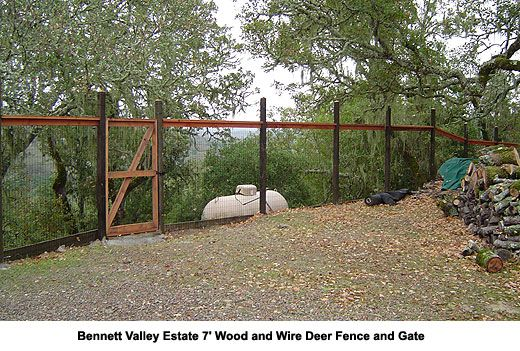 Deer Fence and Agricultural Fences, Sonoma and Marin County | The Fence Builders