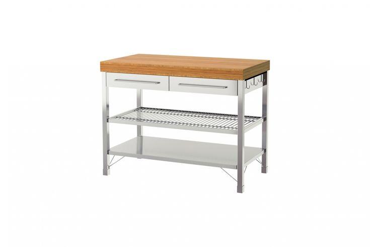 25 best kitchen images on pinterest kitchen carts home for Ikea rimforsa work bench