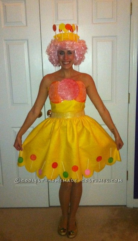 I am totally going to make this for Rachel this year!   Homemade Couple Costume – Princess Lolly and Lord Licorice from Candyland ... This website is the Pinterest of costumes