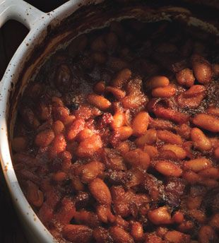 Root Beer Baked Beans - A Must Have for your 4th of July Menu!  via @Bonnie Helton Appetit Magazine #tastytuesday