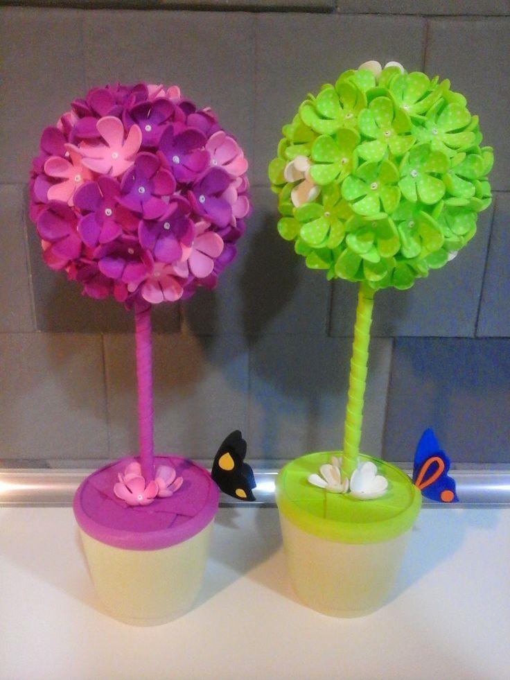 Las 25 mejores ideas sobre centros de mesa de flores de for Mesa para manualidades