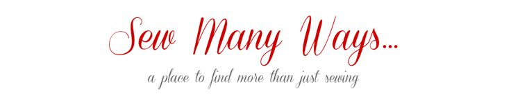 Sew Many Ways......  I love this site! I has so many ideas, especially easy organizing ideas for the craft/sewing room!!
