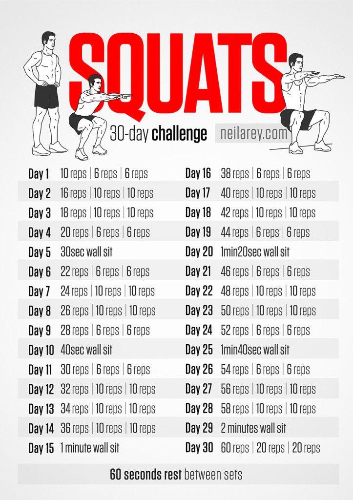 Squats 30 day Challenge!