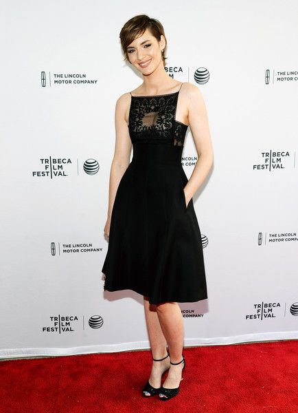 Louise Bourgoin at the 'Mojave' Premiere - Best Dressed at the Tribeca Film Festival 2015 - Photos