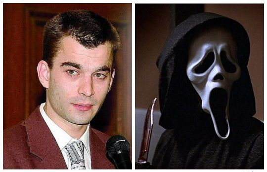 Thierry Jaradin, a 24-year-old Belgian who murdered a 15-year-old girl named Allisson while wearing a ghostface costume, despite being infatuated with her.