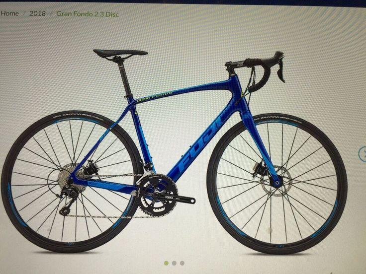 2018 fuji gran fondo 23 disc road bike 49cmnewfull