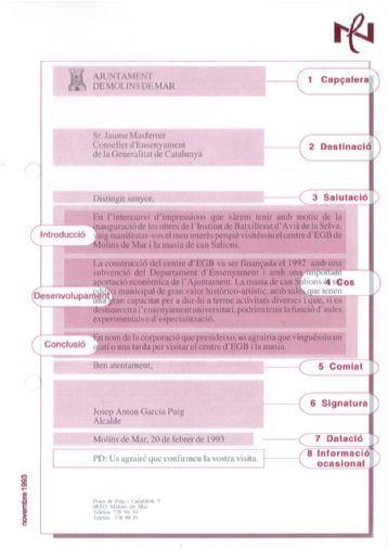 Model de carta formal CPNL - Blocs CPNL