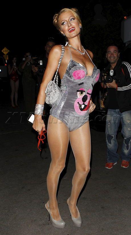 Paris hilton in pantyhose free video-7897