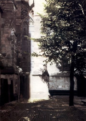 Gerhard Richter, Domecke (Cathedral Corner), 1987, 122 cm x 87 cm, Oil on canvas