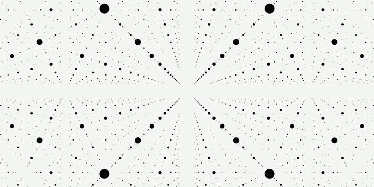 Dave Whyte makes mesmerizing gifs based on geometrical patterns.