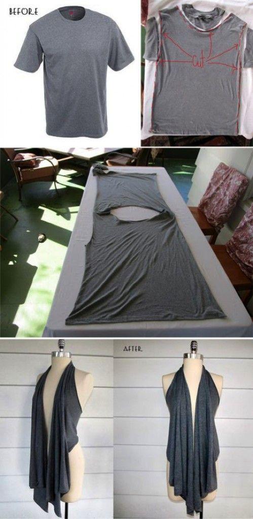 15 Modi per riciclare magliette vecchie