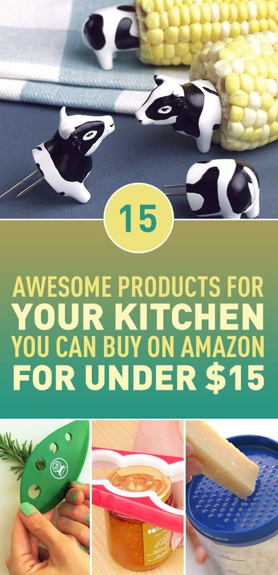 Adorable cheese grater, whimsical mitt, sweet ladle and easy to use garlic peeler, all this and more kitchen gadgets that you can buy from Amazon for under $15. Can you get through this post without spending any money?