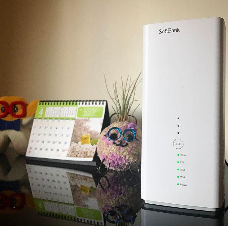 事務所のインターネット回線 工事日の5月まで テザリングかと思っていたら  SoftBank Air が届きました  なんと開通前ですが 一足先にインターネットを使えるようです http://ift.tt/1ApRT07  ありがたい Wix使いにとっては ネット回線は生命線  このタイミングで これが届くなんて ほんとラッキー  加速せよと言われているとしか思えない  #おはよう #絶対やる #未来は自分でつくる #softbankair #挿すだけ