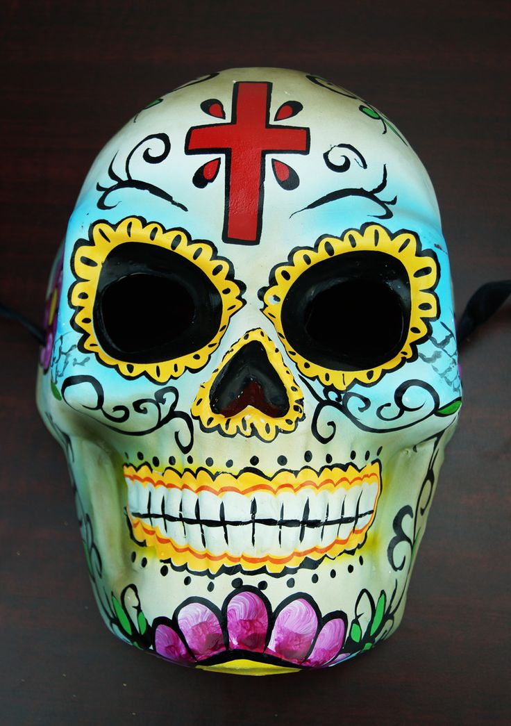 Day Of The Dead Mask Craft