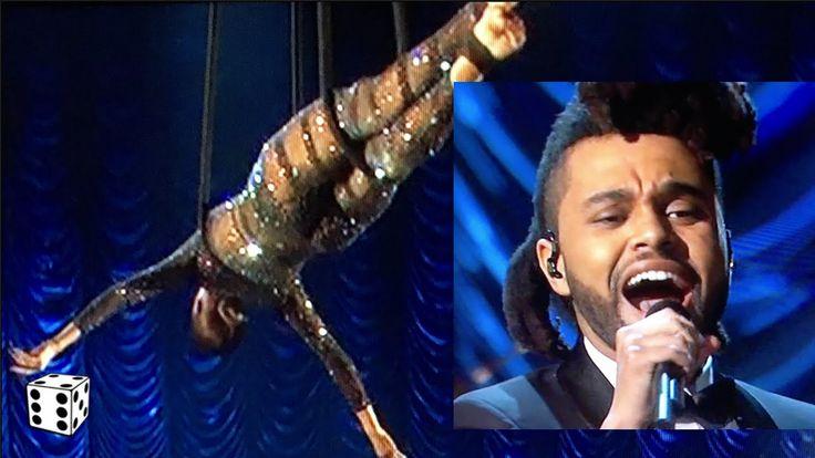 The Weeknd Performs Sadomasochistic Illuminati Ritual at the Oscars 2016