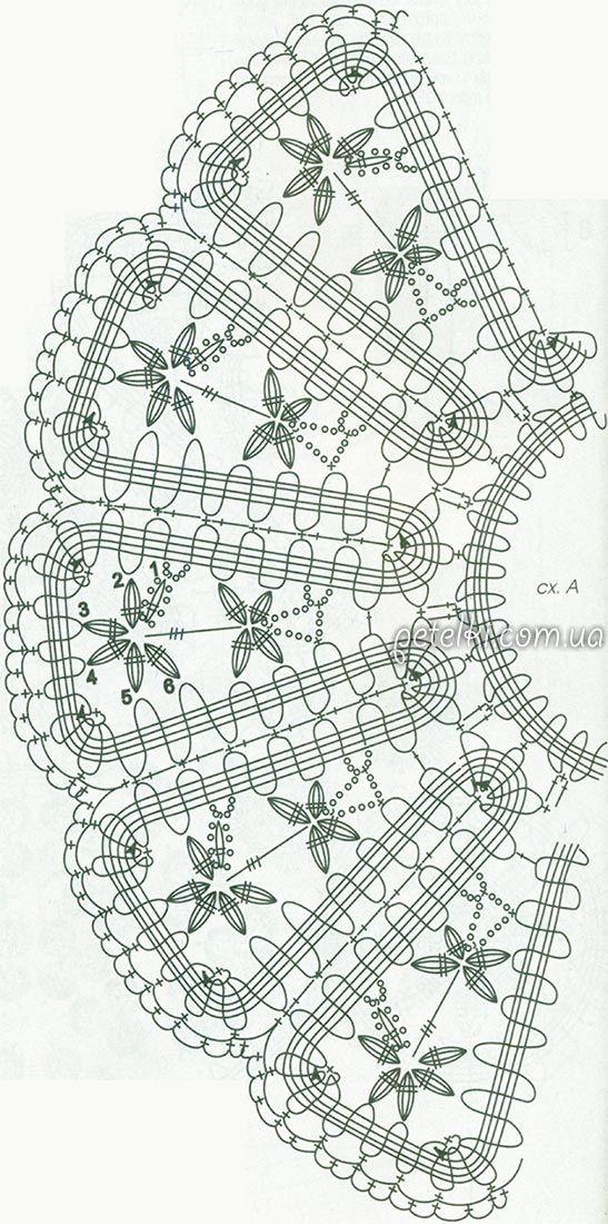 Брюггское кружево. Топ с баской и мини-юбка. Схемы, описание вязания. Обсуждение на LiveInternet - Российский Сервис Онлайн-Дневников