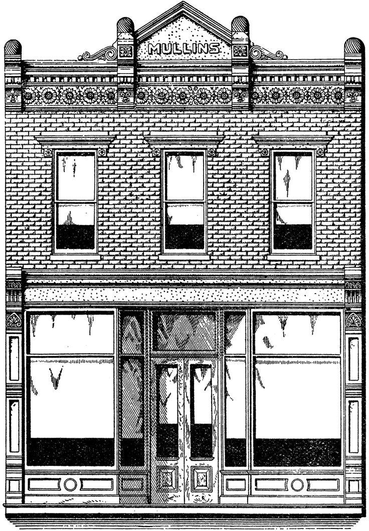 Vintage Brick Store Front Image
