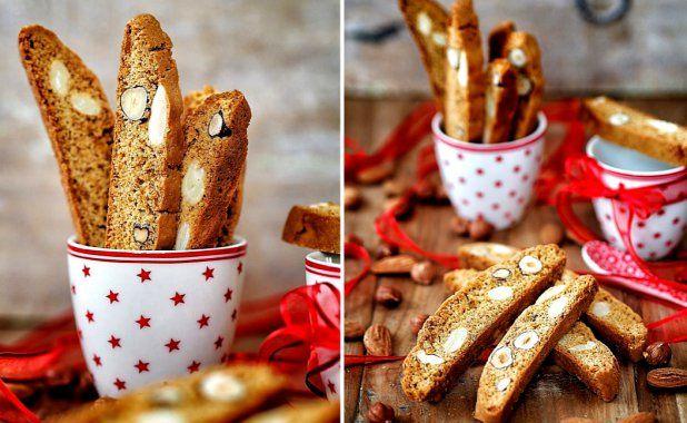 Biscotti – sušenky s ořechy