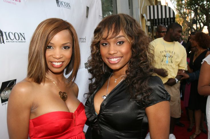 Actresses Elise neal and Angell Cromwell on the Red Carpet