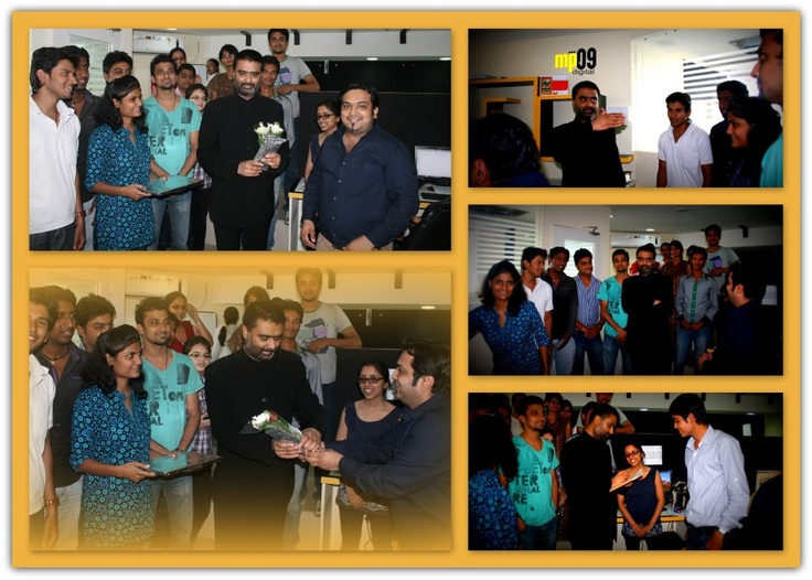 One of the well known Journalist Mr. Deepak Chaurasia made a visit to our office!