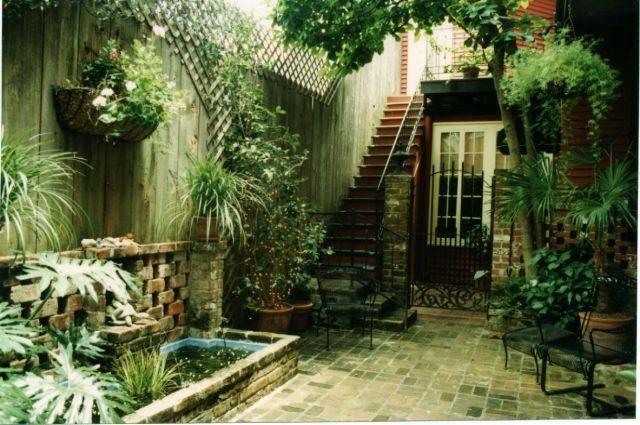 French Quarter Courtyard