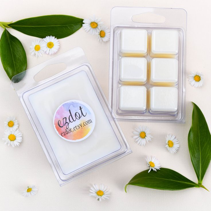 White Linen Scented Wax Melts / Wax Melts for oil burner, Melt Warmer, Soy wax melts, Natural soy wax, Hand poured, Soy melts, Wax tarts by ezdot on Etsy